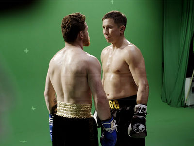 Canelo Alvarez and GGG Clashed During Promo Shoot