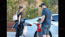 Chris Pratt and Son Have Dinner Date with GF Katherine Schwarzenegger