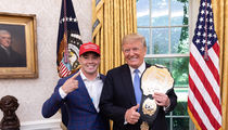 Colby Covington Visits White House 'Unlike The Filth-a-delphia Eagles'