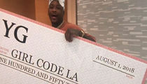 YG Donates $150k to Girl Code LA to Empower Young Women Pursuing Tech