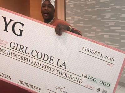 YG Donates $150k to Girl Code LA to Empower Young Women Pursuing Tech