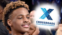 Bronny James Picks Crossroads, Follows Shareef O'Neal's Lead