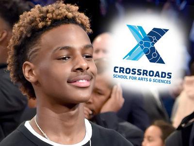 Bronny James Picks Crossroads, Follows Shareef O'Neal's Lead