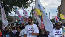 Joakim Noah Led Peace March In Chicago