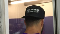 NFL's Andrew Sendejo Channels Trump, 'Make Football Violent Again'