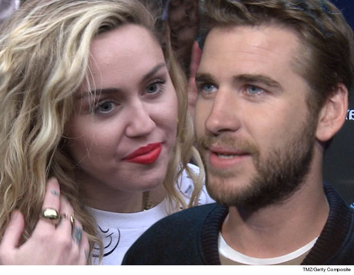 Miley Cyrus And Liam Hemsworth In No Rush To Get Married Tmzcom