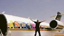 Travis Scott's 'Astroworld' Custom Wrap Job on Private Jet Cost Around $30k