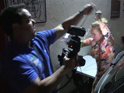 Hayden Panettiere Swarmed by Photogs, Guy Friend Comes to Her Rescue