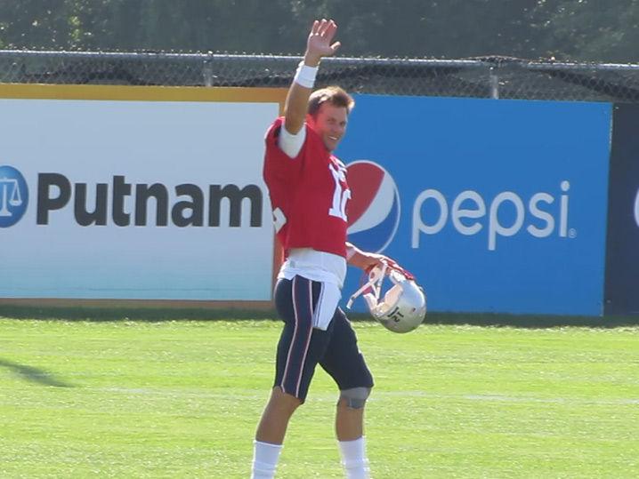 Tom Brady Gets Happy Birthday Serenade At Patriots Training Camp