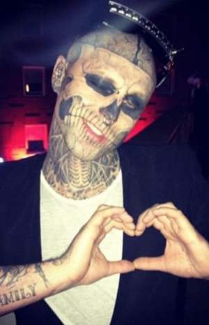 Remembering Zombie Boy