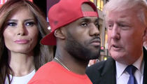 Melania Trump Backs LeBron James After President's Derogatory Tweet