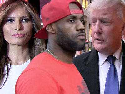 Melania Trump Backs LeBron James After President's Derogatory Tweet