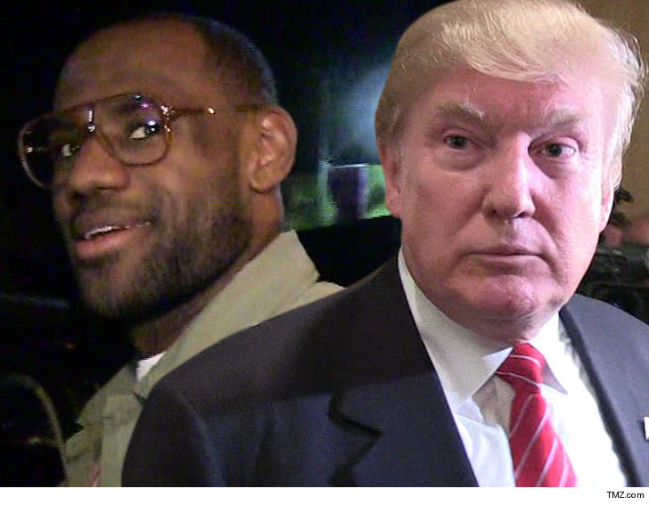 d2ce164a7dc Celebs Side with LeBron James in Disgusting Donald Trump  Dumb  Tweet