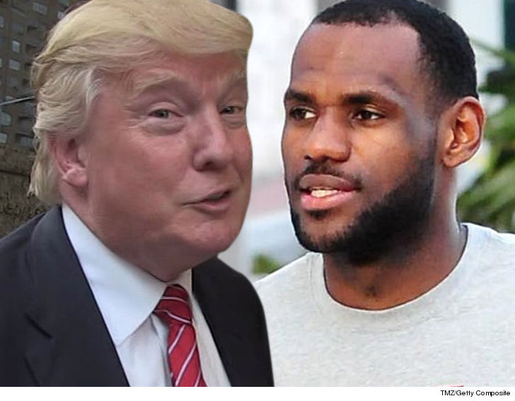 President Trump bashes LeBron James, CNN host Don Lemon after watching interview