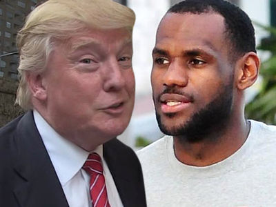 Donald Trump Calls LeBron James, Don Lemon Dumb