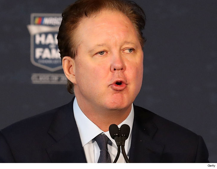 NASCAR CEO Brian France charged with DUI