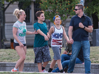 Britney Spears Explores Berlin with Sons During Kevin Federline Child Support Battle