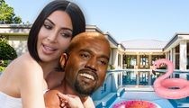 Kim and Kanye Are Getting a Massive Pool Built at Their Hidden Hills Home