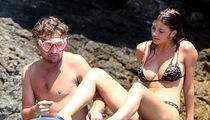 Leonardo DiCaprio Goes Snorkeling with Girlfriend Camila Morrone