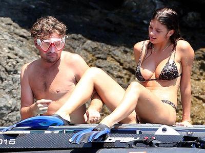Leonardo DiCaprio Goes Snorkeling with Girlfriend Camila Morrone
