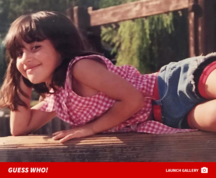 Guess Who This Plaid Princess Turned Into!