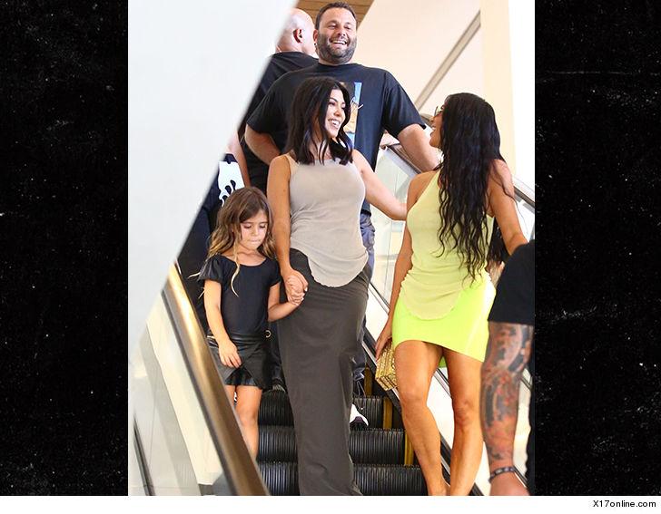 Kourtney Kardashian All Smiles Amid News of Younes Split