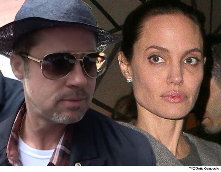 Brad Pitt hits back at ex