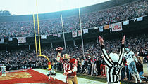49ers Honoring Joe Montana and Dwight Clark with 'The Catch' Statue