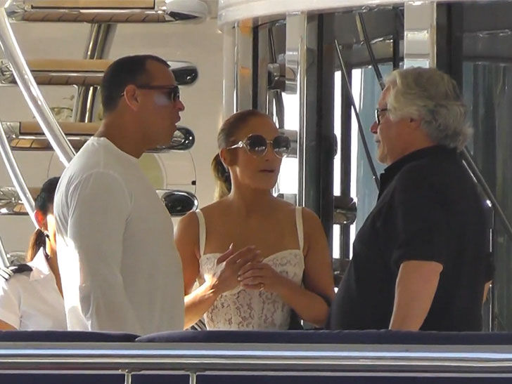 Jennifer Lopez and Alex Rodriguez Party On Miami Heat Owner's Super Yacht
