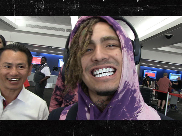 Lil Pump Gets $70k Diamond Grills Delivery at LAX