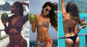 Bikini Babes to Drive You Coconuts!