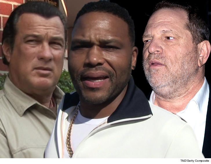 Anthony Anderson, Steven Seagal, Harvey Weinstein Assault Cases Sent to L.A. County D.A.