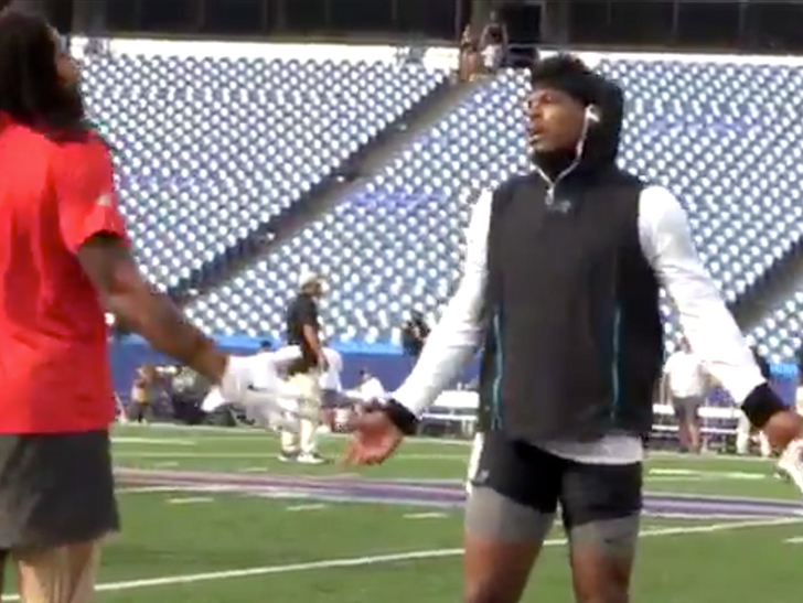 Cam Newton confronts Kelvin Benjamin over remarks