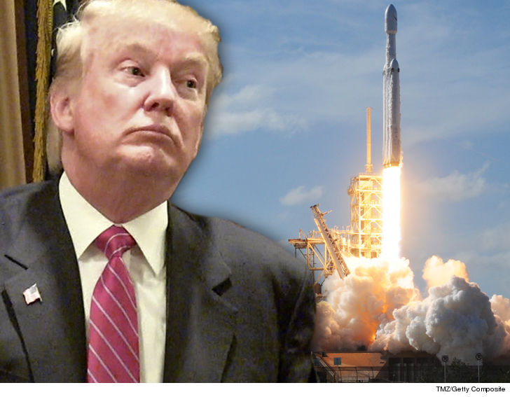 Donald Trump Wants His Supporters to Vote on a Space Force Merch Logo