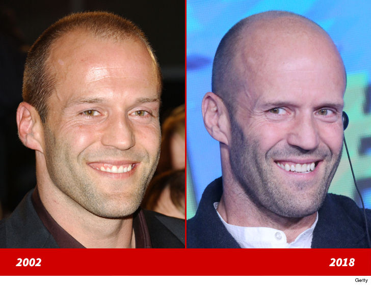 Jason Statham -- Good Genes or Good Docs?