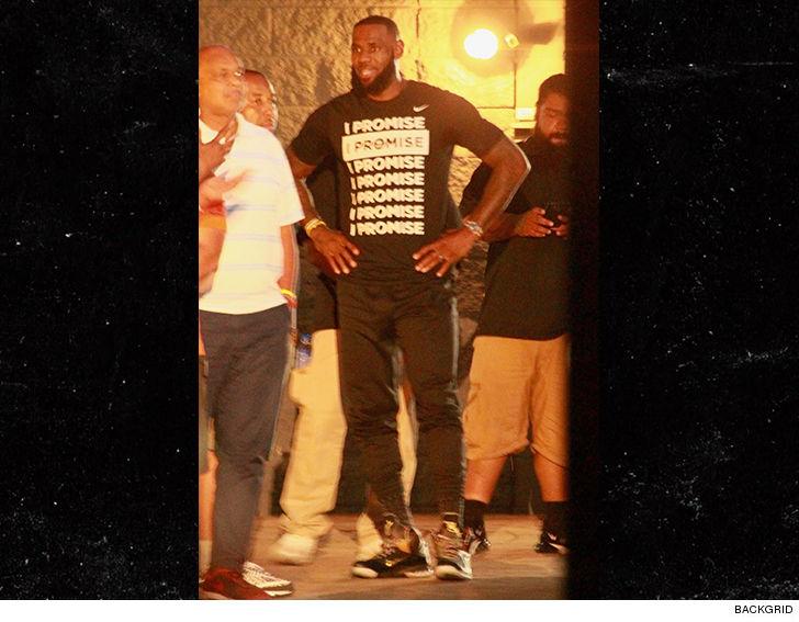 LeBron James 'Shut Up and Dribble' Fashion War Brewing