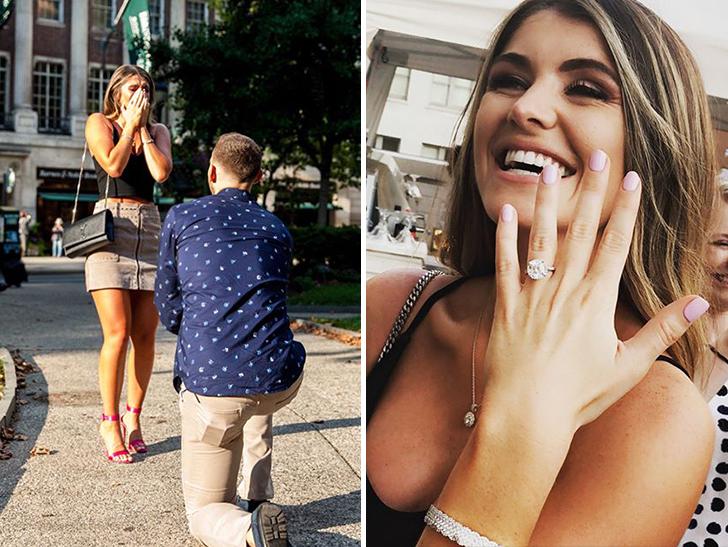 NBA's Nik Stauskas Passes The Rock To GF, Will You Marry Me?!