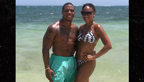 Ray Rice Flaunts Shirtless Bod In Jamaica, Abs-olutely Still NFL Ready!
