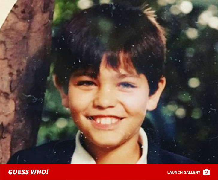 Guess Who This Blue-Eyed Boy Turned Into!