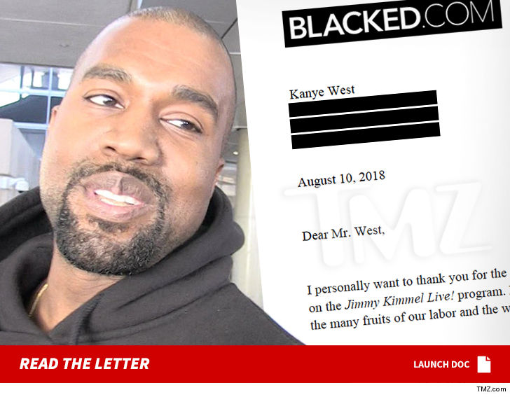 Kanye West Offered Porn Deal After Porn Site Shout-Out on 'Jimmy Kimmel'