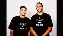 Colin Kaepernick Praises Kenny Stills for Taking a Knee