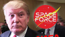 NASA Logo Designer Bashes Donald Trump's Space Force