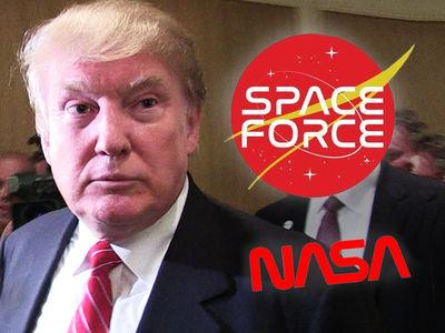 NASA Logo Designer Bashes Donald Trump's Space Force