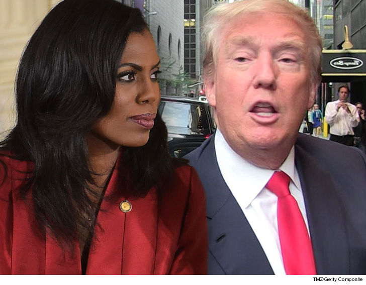 Omarosa Claims She Walked In On Trump Eating Paper In Oval Office