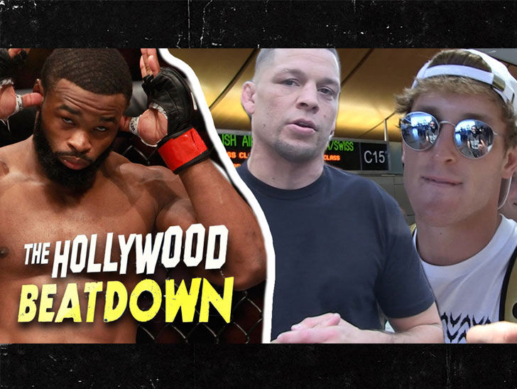 Tyron Woodley to Logan Paul, 'You Ain't Gonna Beat CM Punk'