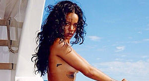 Rihanna Proves Her Gym Sessions Have Paid Off In Hot Red Bikini