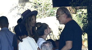 Heidi Klum's Daughter Leni Meets with Biological Father, Flavio Briatore