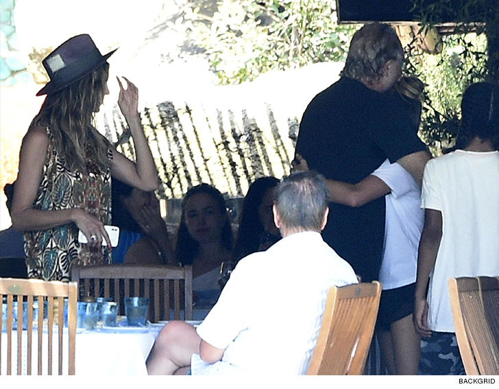 Heidi Klum's Daughter Leni Meets with Biological Father, Flavio Briatore