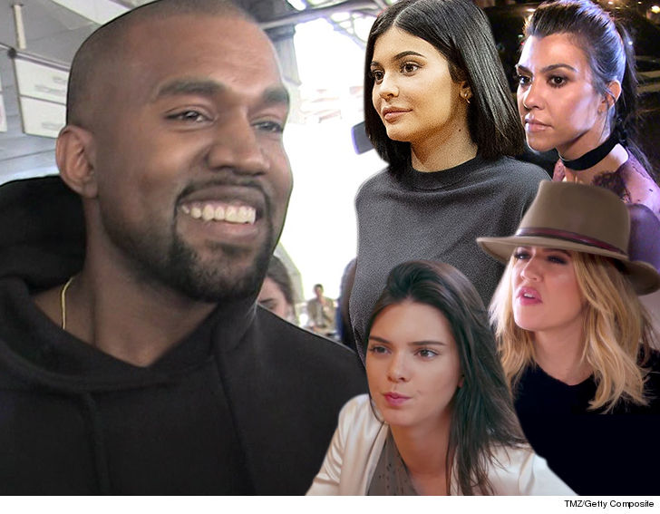 Kanye Wests New Song Says Hes Got Sick Thoughts And Some Of Them Involve All 4 Of His Sisters In Law