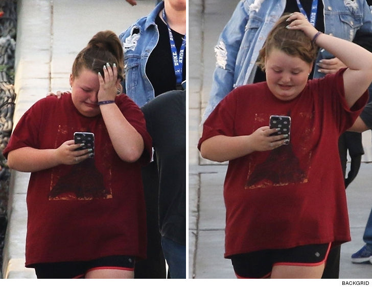 Honey Boo Boo Cries After Rehearsal for 'Dancing with the Stars Jr.'